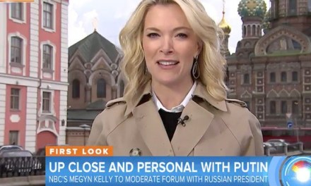 Megyn Kelly Scores One-On-One Interview with Vladimir Putin
