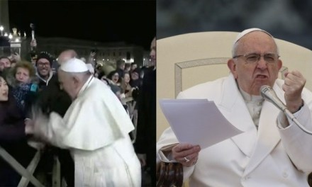 Pope Francis caught on several occasions hating on Catholics. He seems almost angry.