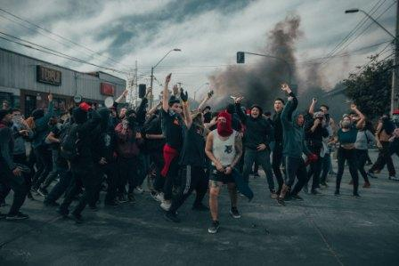 Things are starting to unravel in the USA. Scenes from 6-27-20 show rising racial tensions and civil unrest