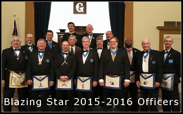 Blazing Star Lodge 2015-2016 Officers