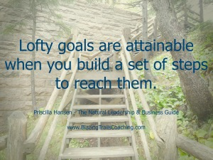 lofty goals