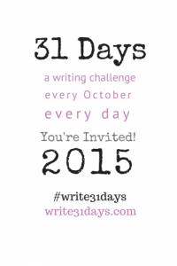 Write 31 Days - Blazing Trails Coaching - Off the Clock