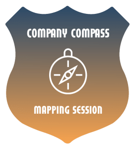 Register for a Company Compass Mapping Session, develop your mission statement, vision statement and your core values for your organization