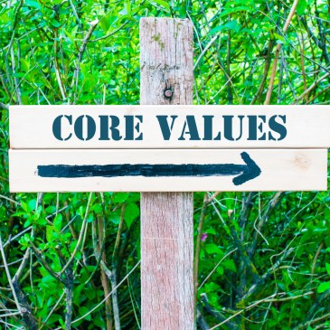 Use Core Values to Guide You to Your Business Goals