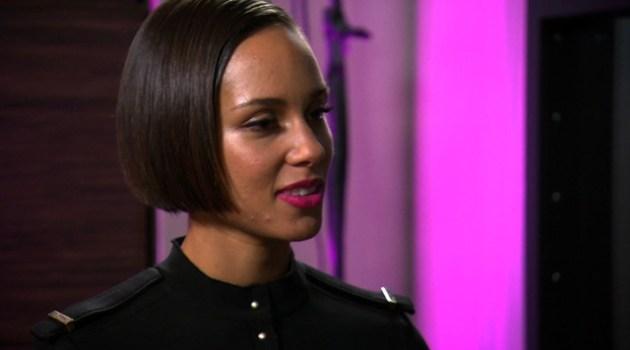 Alicia Keys On CBS