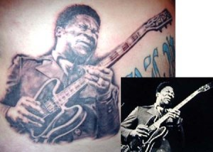 At 11th. B.B.King. we had to put B.B. King somewhere in this list. He has help a lot of hip hop artists.