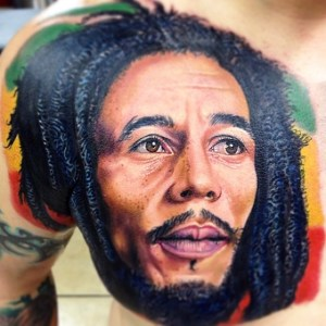 The number 1 artist's goes to Bob Marley. Don't Worry, Be Happy...