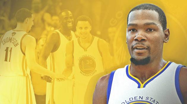 Kevin Durant Picks Golden State Warriors