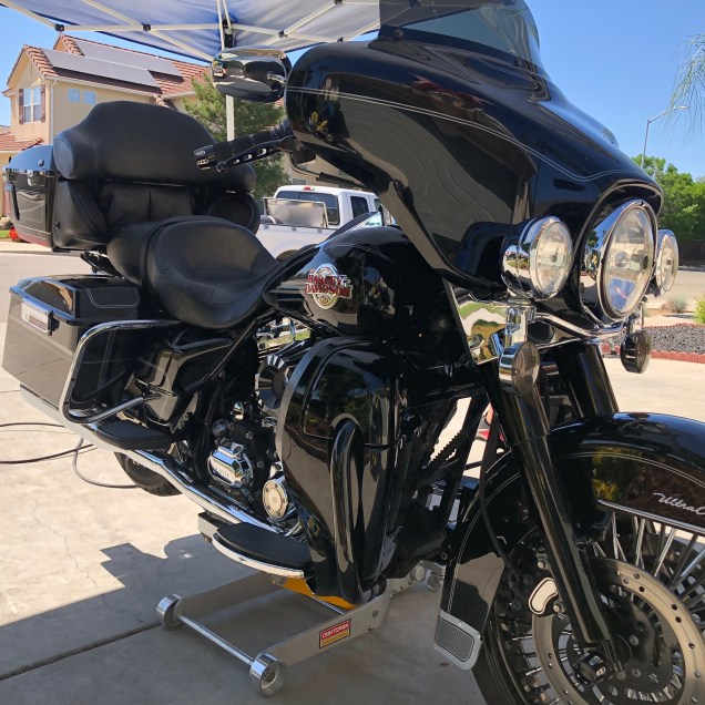 Fresno Mobile Detailing   Clean Motorcycle