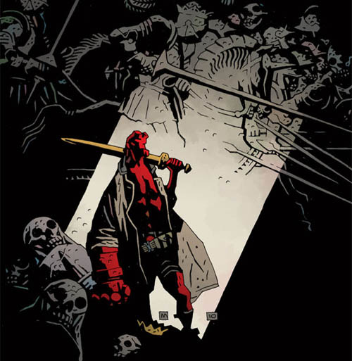 Ruin, Space, and Shadow: An Interview with Mike Mignola