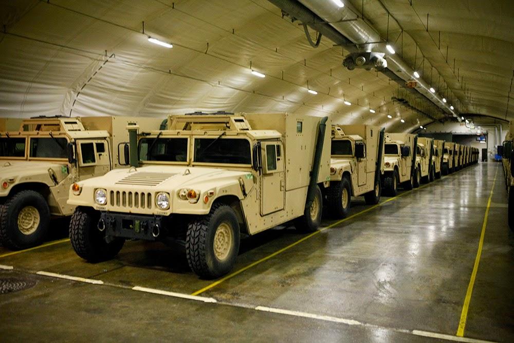 Military Cave Logistics