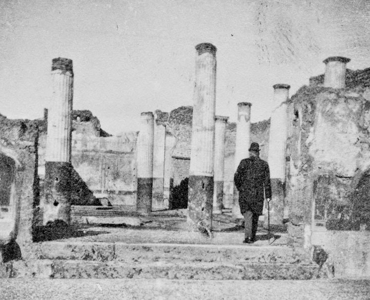 Wire-Tapping the Ruins of Pompeii