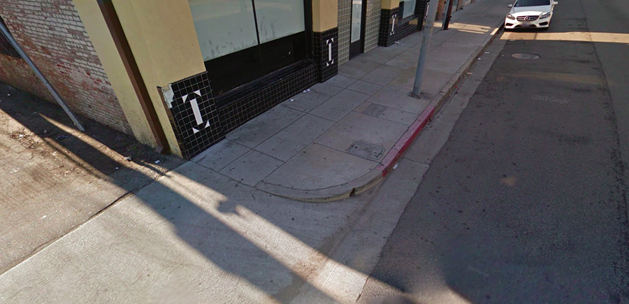 Buy a Los Angeles Sidewalk Corner