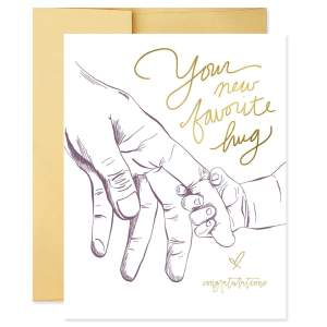 New Favorite Hug Greeting Card for New Parents