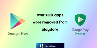 google removed 700k apps