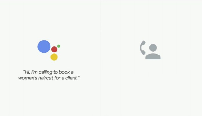 Google assistant conversation