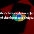 chrome extension for web development