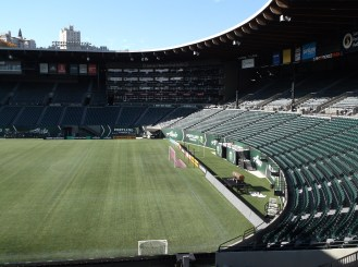 The calm before the storm one day before the Timber v Rapids match
