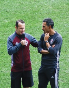Post training interview with Richard Fleming and Pablo Mastroeni