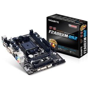 Gigabyte GA-F2A88XM-DS2 Socket FM2+ AMD A88X DDR3 Micro ATX Motherboard (GA-F2A88XM-DS2)