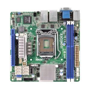 ASRock E3C226D2I LGA 1150 Intel C226 DDR3 Mini ITX Motherboard (E3C226D2I)