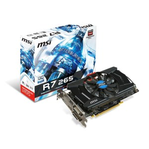 MSI Radeon R7 265 OC 2 GB GDDR5 Graphics Card (R7 265 2GD5 OC)