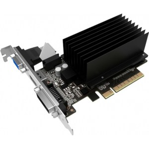 Palit GeForce GT 730 Silent 2 GB GDDR3 Graphics Card (NEAT7300HD46-2080H)