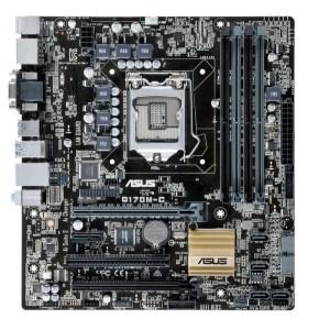 ASUS Q170M-C LGA 1151 Intel Q170 DDR4 Micro ATX Motherboard (Q170M-C)