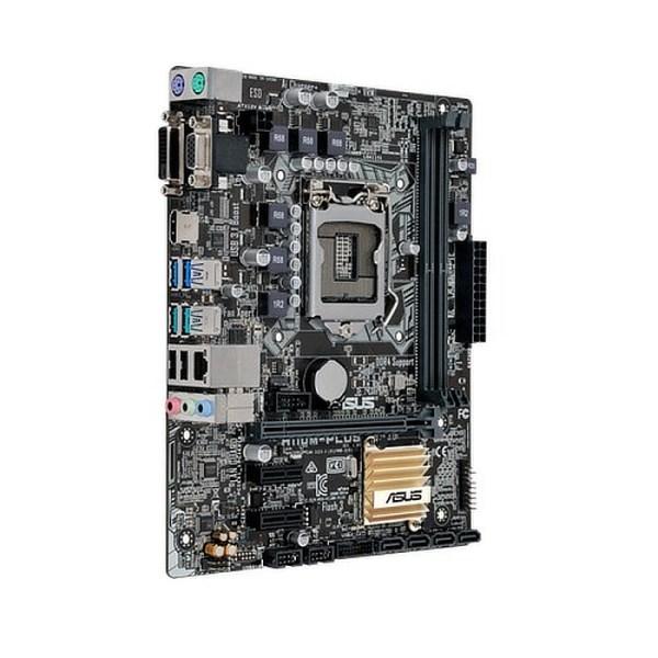 ASUS H110M-Plus LGA 1151 Intel H110 DDR4 Micro ATX Motherboard (90MB0PN0-M0EAY0)
