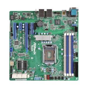 ASRock E3C236D4U LGA 2011 Intel C236 DDR4 Micro ATX Motherboard (E3C236D4U)