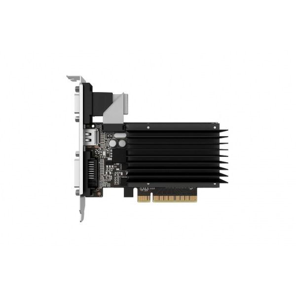 Palit GeForce GT 710 Silent 2GB GDDR3 Graphics Card (NEAT7100HD46-2080H)