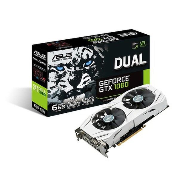 ASUS GeForce GTX 1060 DUAL 6GB GDDR5 Graphics Card (90YV09X4-M0NA00)