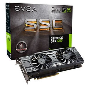 EVGA GeForce GTX 1060 SSC GAMING ACX 3.0 3 GB GDDR5 Graphics Card (03G-P4-6167-KR)