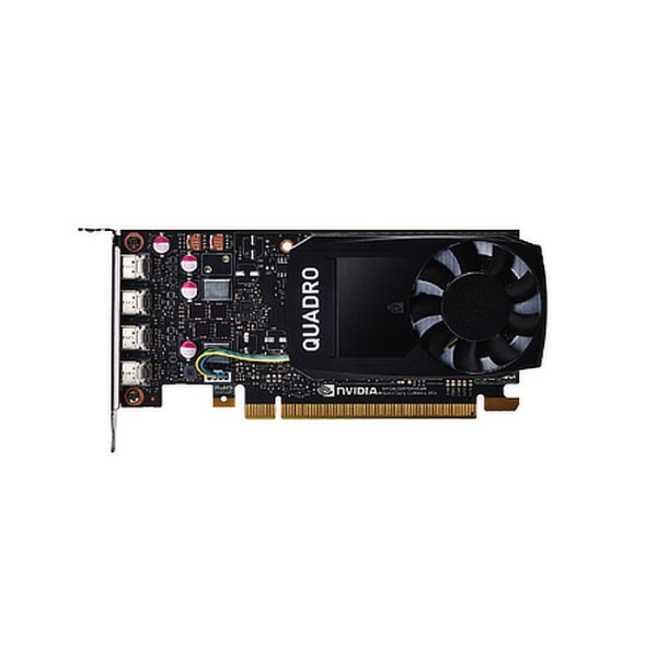 PNY Quadro P1000 4GB GDDR5 Graphics Card (VCQP1000DVI-PB)