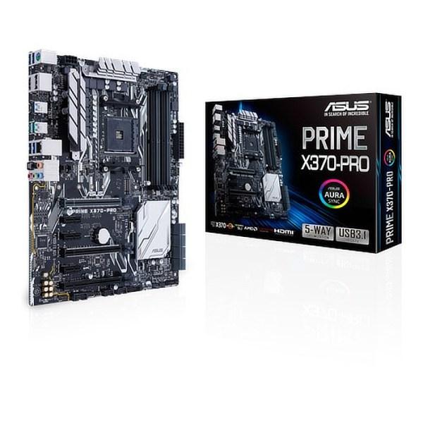 ASUS PRIME X370-PRO Socket AM4 AMD X370 DDR4 ATX Motherboard (90MB0TD0-M0EAY0)