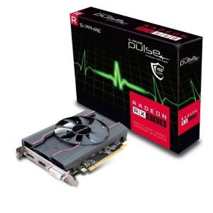 Sapphire Radeon RX 550 PULSE 4GB GDDR5 Graphics Card (11268-01-20G)