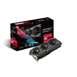 ASUS Radeon RX 580 ROG Strix Gaming OC 8GB GDDR5 Graphics Card (ROG-STRIX-RX580-O8G-GAMING)