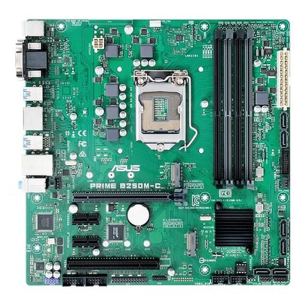 ASUS PRIME B250M-C/CSM LGA 1151 Intel B250 DDR4 Micro ATX Motherboard (90MB0SQ0-M0EAYC)