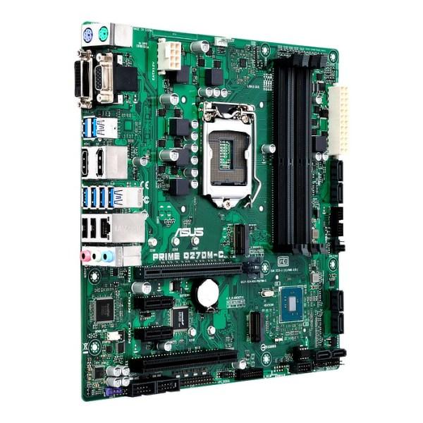 ASUS Prime Q270M-C LGA 1151 Intel Q270 DDR4 Micro ATX Motherboard (90MB0SZ0-M0EAYC)