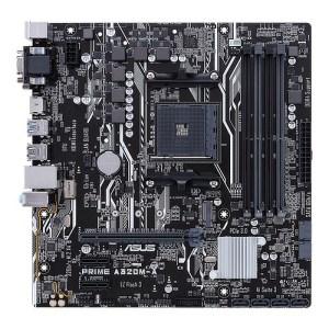 ASUS PRIME A320M-A Socket AM4 AMD A320 DDR4 Micro ATX Motherboard (90MB0VA0-M0EAY0)
