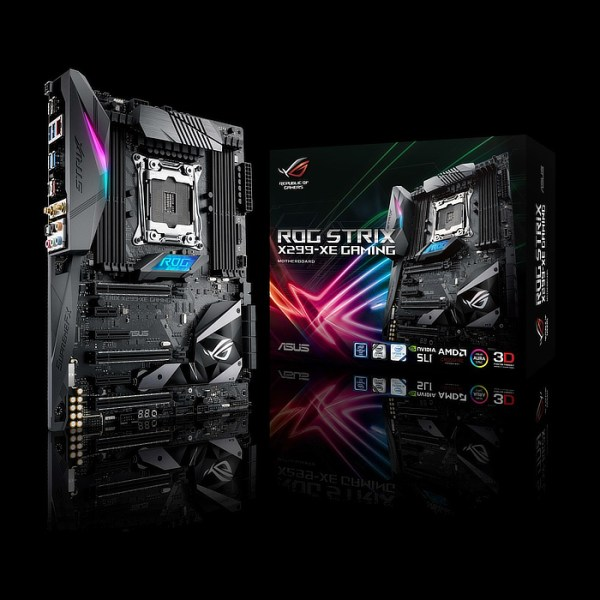 ASUS ROG STRIX X299-XE GAMING LGA 2066 Intel X299 DDR4 ATX Motherboard (90MB0VW0-M0EAY0)