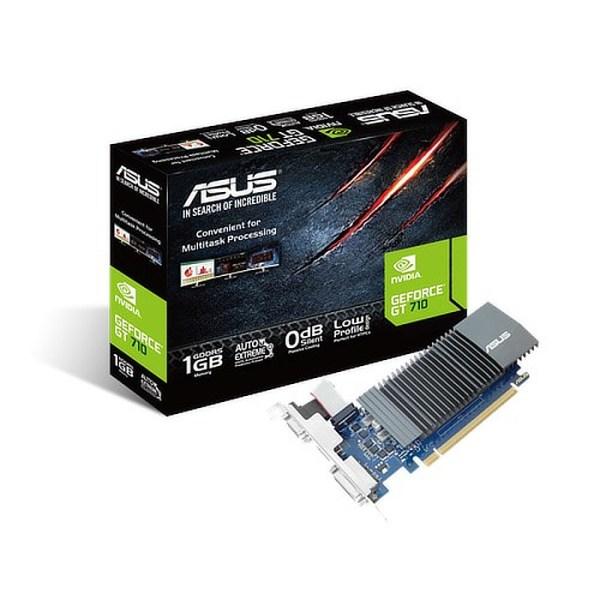 ASUS GeForce GT 710 Low Profile Silent 1GB GDDR5 Graphics Card (GT710-SL-1GD5-BRK)