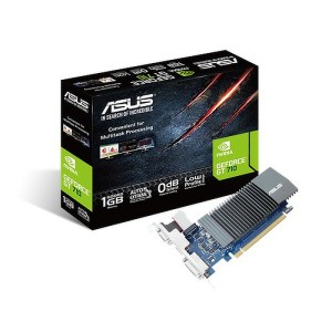ASUS GeForce GT 710 Low Profile Silent 1GB GDDR5 Graphics Card (GT710-SL-1GD5-BRK)