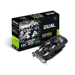ASUS GeForce GTX 1050 DUAL OC V2 2GB GDDR5 Graphics Card (90YV0AA1-M0NA00)