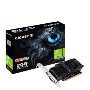 Gigabyte GeForce GT 710 Silent 2 GB GDDR5 Graphics Card (GV-N710D5SL-2GL)