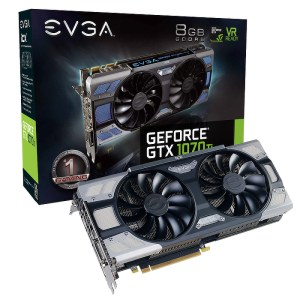 EVGA GeForce GTX 1070 Ti FTW2 iCX 8GB GDDR5 Graphics Card (08G-P4-6775-KR)