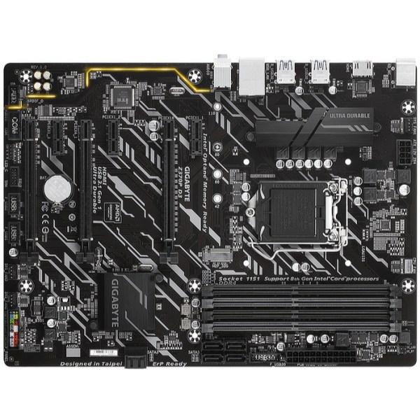 Gigabyte Z370P D3 LGA 1151 Intel Z370 Express DDR4 ATX Motherboard (Z370P D3)