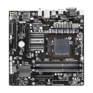 Gigabyte GA-78LMT-USB3 R2 (rev. 1.0) Socket AM3+ AMD 760G DDR3 Mini ITX Motherboard (GA-78LMT-USB3 R2)