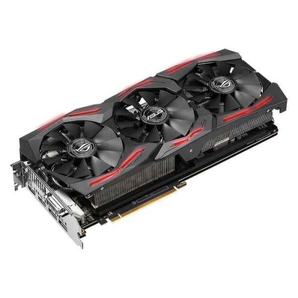 ASUS Radeon RX Vega 56 ROG Strix Gaming OC 8 GB HBM2 Graphics Card (ROG-STRIX-RXVEGA56-O8G-GAMING)