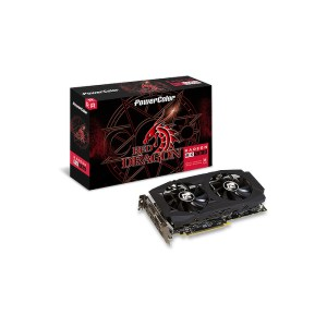 PowerColor Radeon RX 580 Red Dragon 8 GB GDDR5 Graphics Card (AXRX580 8GBD5-3DHDV2/OC)